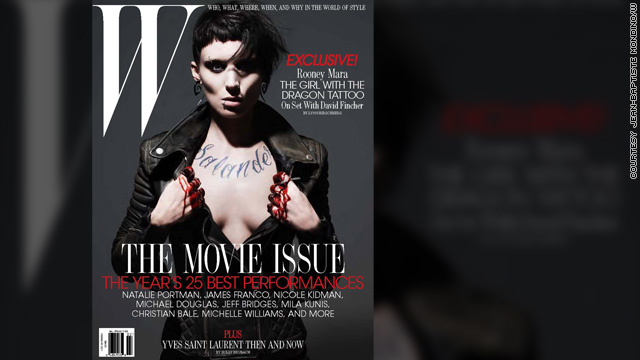 Rooney Mara goes goth for 'Dragon Tattoo' role