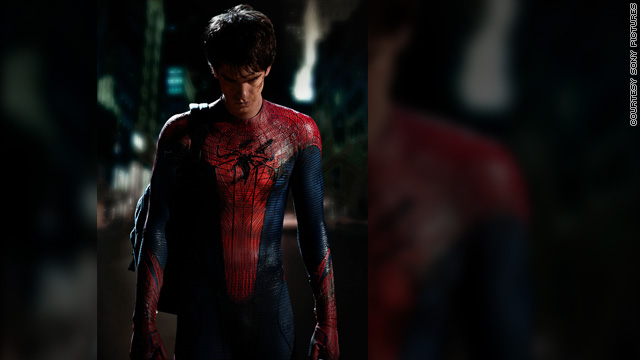 Take a look at Andrew Garfield as 'Spider-Man'
