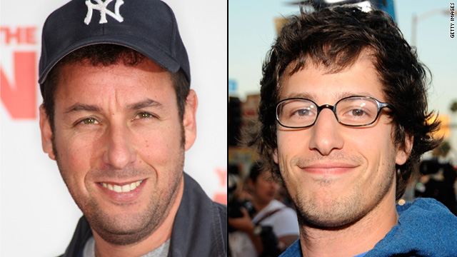 Adam Sandler and Andy Samberg to play father and son