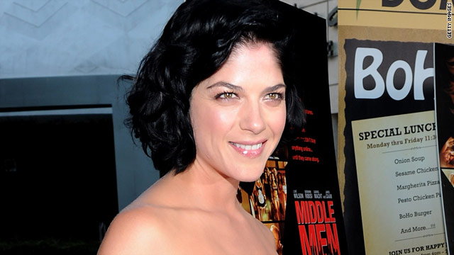 Actress Selma Blair is pregnant