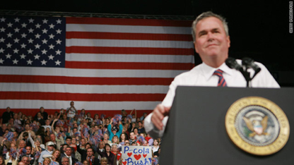 Jeb Bush blasts heated political tone in U.S.