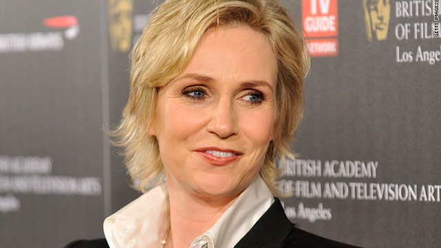 Jane Lynch: World's not ready for gay actors as romantic leads