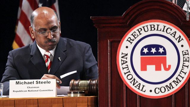 Michael Steele withdraws from RNC race