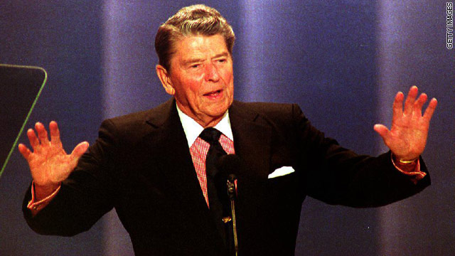 Reagan's son: Father showed signs of Alzheimer's in White House
