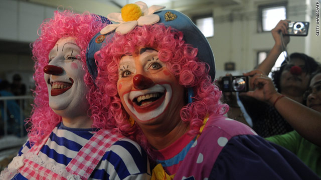 No Joke: Clowns can boost IVF pregnancy rates, study says