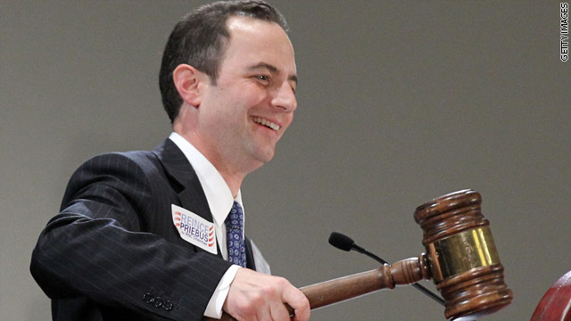 New RNC chairman tells House Republicans he&#039;ll listen