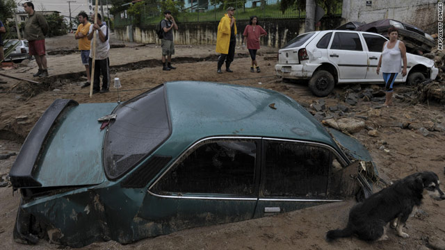 Death toll rises to 549 in Brazil flooding