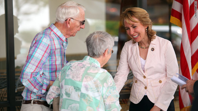 Senator: Giffords moving both sides of her body, breathing on her own