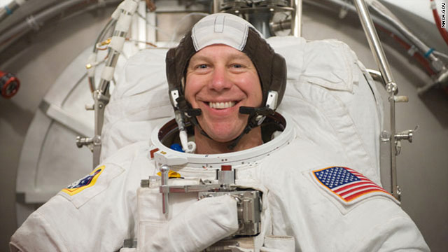 NASA astronaut injured in bicycle accident