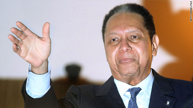 'Baby Doc' Duvalier huddles in Haitian hotel; press conference canceled