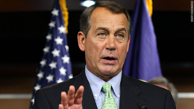 Boehner makes move to defend Defense of Marriage Act