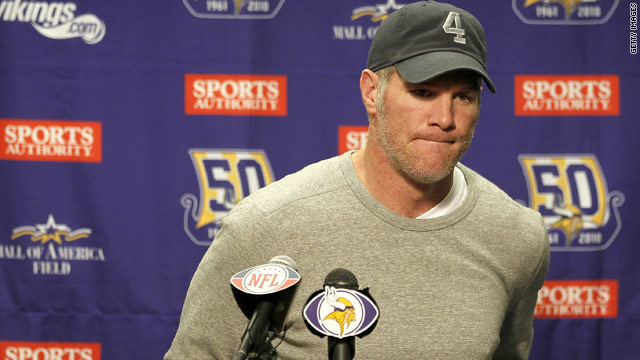 NFL: Brett Favre officially files retirement papers