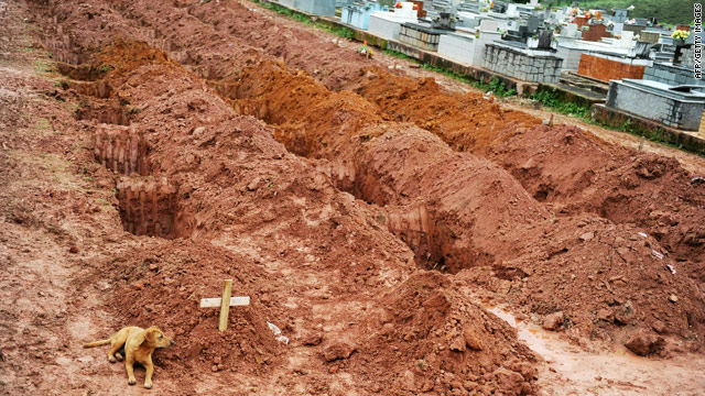 After Brazil flooding, loyalty to the dead