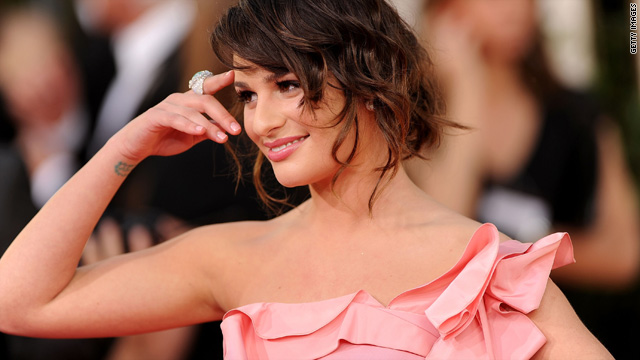 Lea Michele apologizes for 'True Grit' star snub
