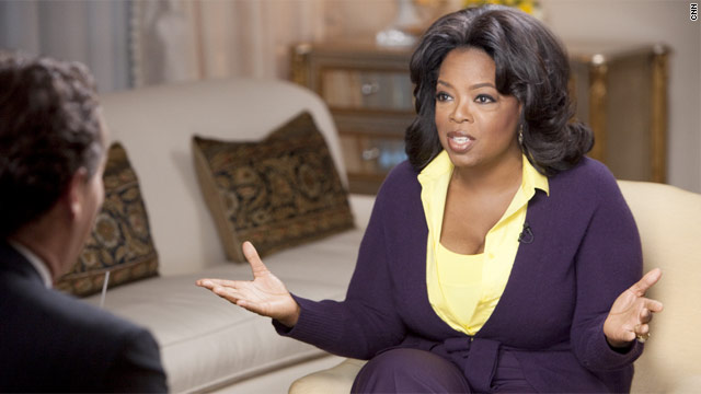 Winfrey: Losing baby as a teen was 'my second chance'