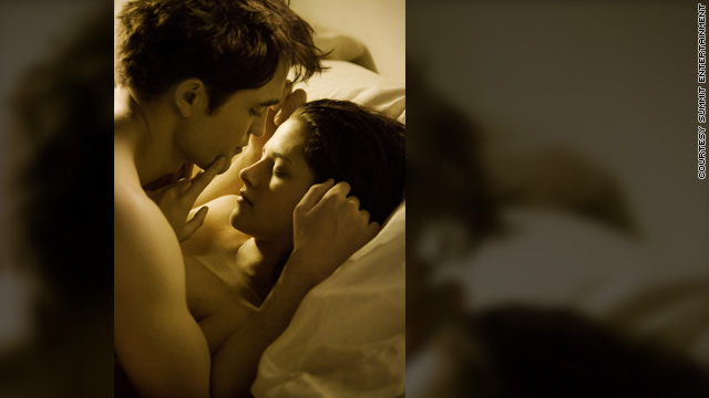 Bella and Edward's bedroom scene revealed