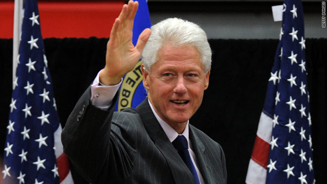 Bill Clinton hits the stump for Rahm