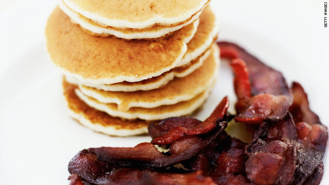 Big breakfasts won't help you lose weight, study says