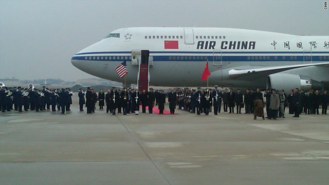 Pomp before policy as Hu arrives in U.S.