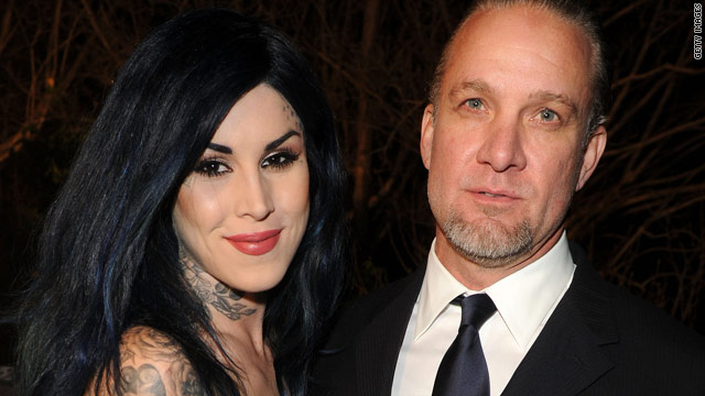 Jesse James has it bad for Kat Von D