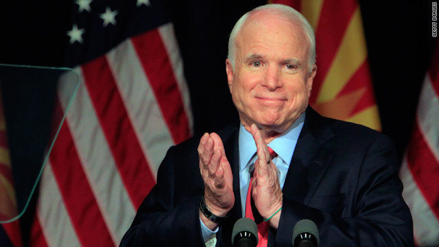 McCain: Hopes Obama considers Lieberman for defense secretary