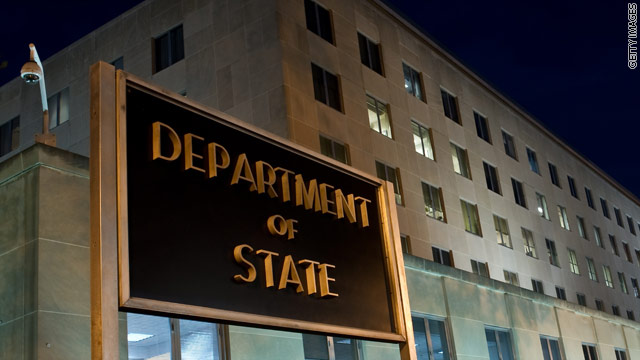 Flash fire injures four in State Department building during construction repairs