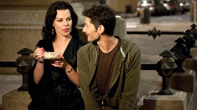 Debi Mazar and hubby are 'Extra Virgin'
