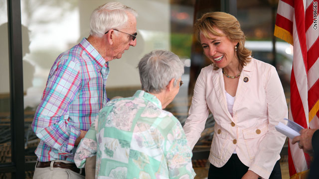 Need To Know News: Giffords stands; Democratic Rep stands by Nazi comparison