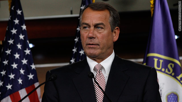 Boehner: Barring federal funds for abortion one of GOP's 'highest' priorities