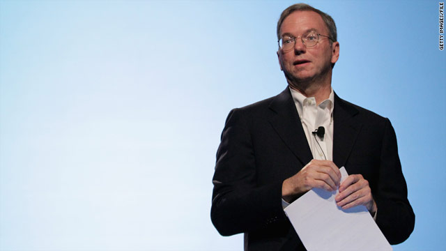 Eric Schmidt stepping down as Google CEO