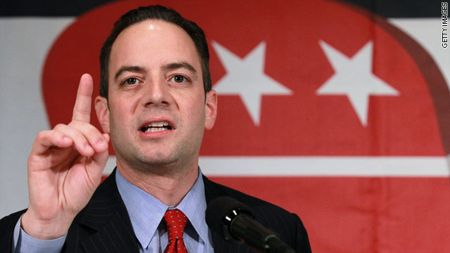Priebus taps major GOP fundraisers for RNC transition