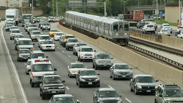 Which cities have the worst traffic?