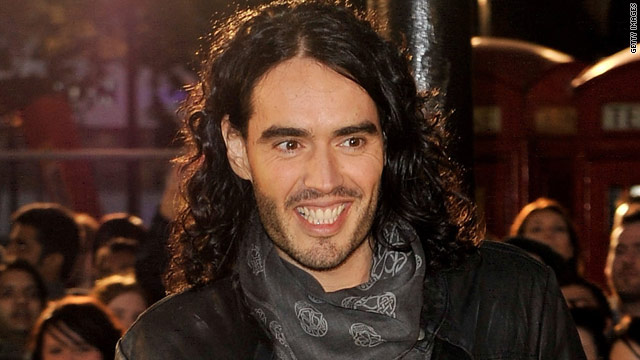 Russell Brand may be tuning up for 'Rock of Ages'