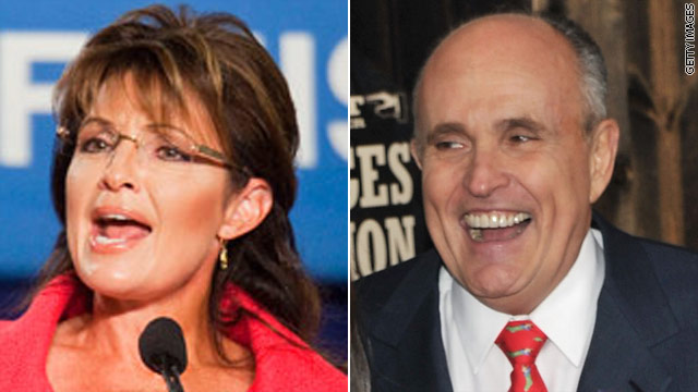 Giuliani vs. Palin in 2012?