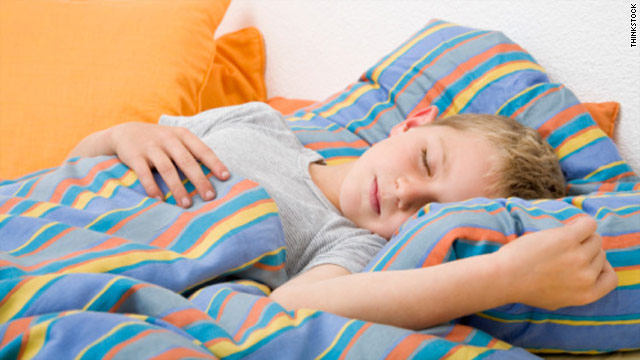 Catching up on Z's could curb kids' weight