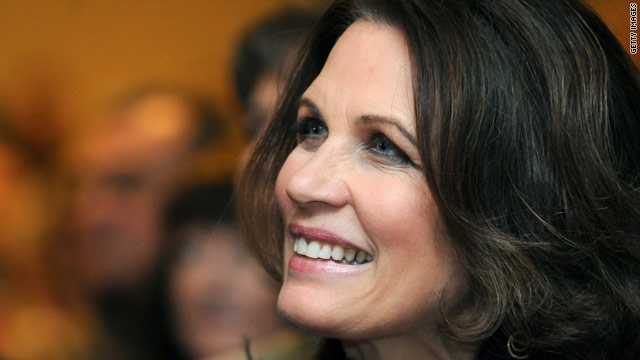 Bachmann 'encouraged' in Iowa