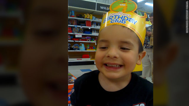 Search continues for boy swiped from grandmother's arms