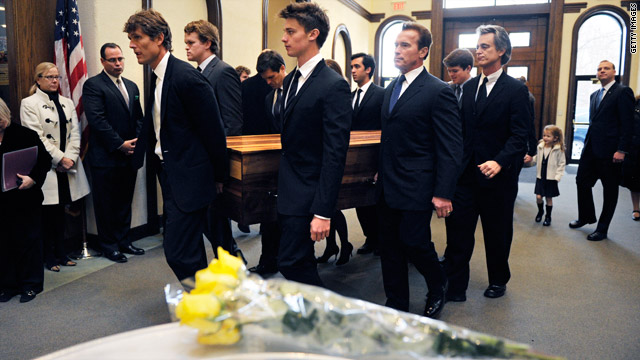 Funeral remembers Shriver's love of others, service