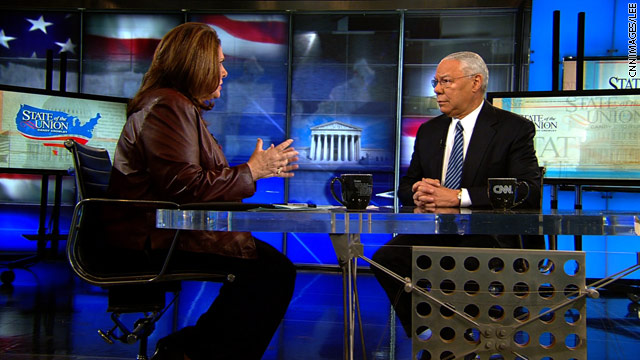 Powell won't commit to Obama in 2012