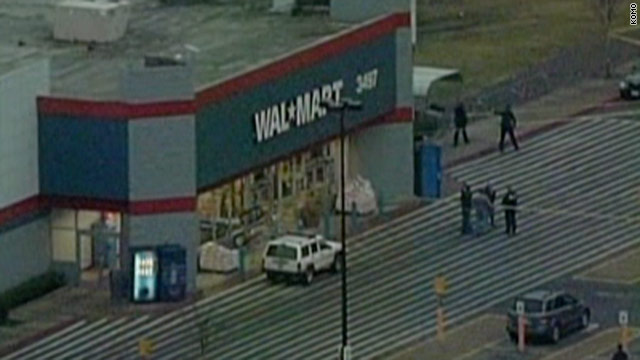 2 killed, 2 cops hurt in shootout outside Walmart