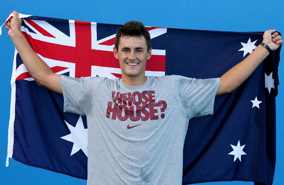 Bernard Tomic's run at the Australian Open delighted the home crowd in the first week of the Melbourne tournament.