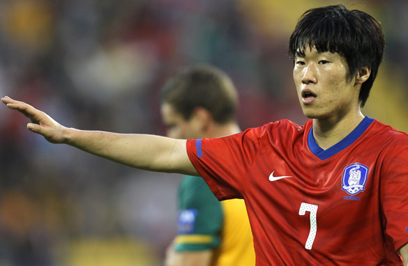 Which players will help lead South Korea's bid for a world title after the retirement of Park Ji-Sung?
