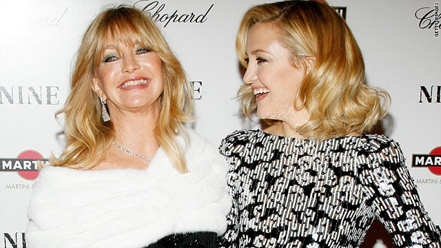Goldie Hawn 'excited' about Kate Hudson's baby news