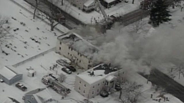 Gas line pressure increase causes 9 house fires in Ohio village
