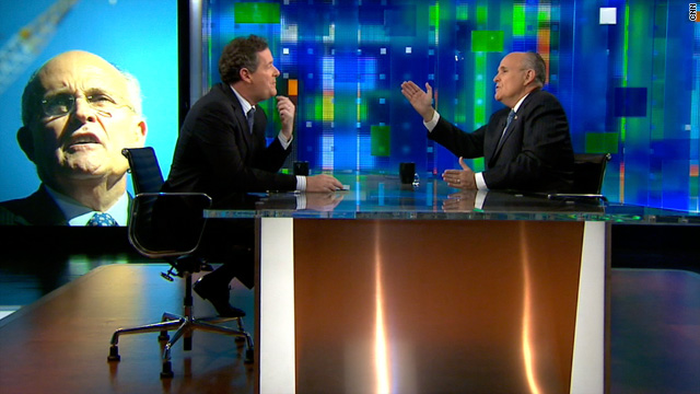 Giuliani to Piers Morgan: Tea Party's good, but a couple people in it are 'a little crazy'
