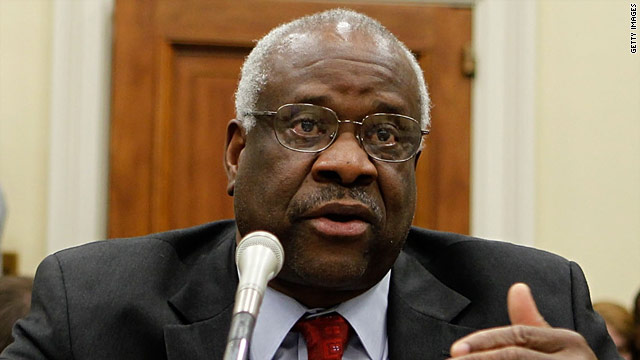 Clarence Thomas breaks years of silence on bench