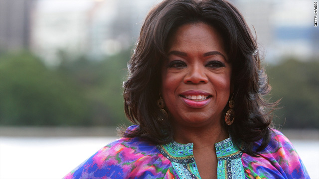 Oprah's big secret is ...