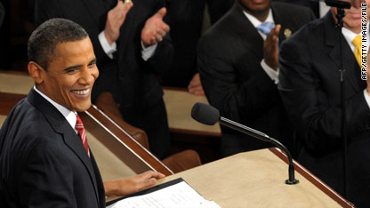 Pres. Obama gives the State of the Union address at 9 p.m. ET tonight.