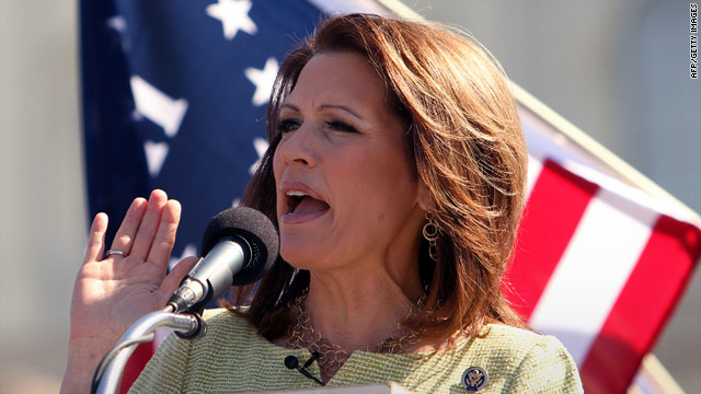 Bachmann says she's 'not in competition with Paul Ryan'