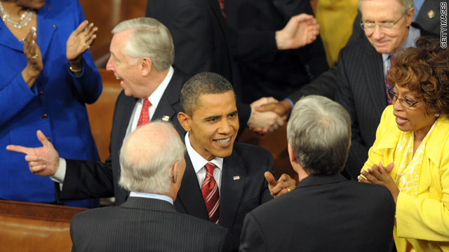 Excerpts from President Obama's State of the Union address